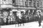 Carl Mannerheim in the victory parade in Helsinki, Finland, 16 May 1918