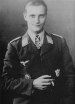 Portrait of Hans-Joachim Marseille, Sep 1942
