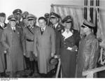 General Erhard Milch, Minister Wilhelm Ohnesorge, and General Friedrich Christiansen, 1937
