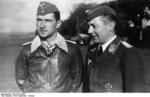 Major Werner Mölders and Hauptmann Arthur Laumann, Sep-Oct 1940