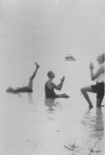 Mansuel Crosby, Franklin Roosevelt, and Oswald Mosley in Florida, United States, Feb 1926