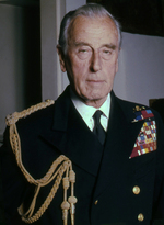 Portrait of Earl Louis Mountbatten, taken at his home in Belgravia, London, England, United Kingdom, 1976