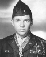 Portrait of Audie Murphy, circa 1945