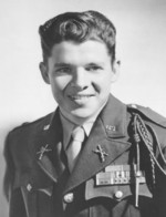Portrait of Audie Murphy, date unknown