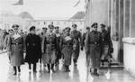 Himmler and Mussert at Dachau Concentration Camp, Germany, 20 Jan 1941, photo 1 of 2