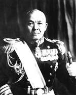 Portrait of Nagumo, circa 1941-1942