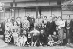 Chuichi Nagumo with his family, Japan, 1943