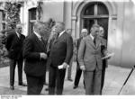 German cabinet members Neurath and Papen, Berlin, Germany, Jun 1932, photo 3 of 3