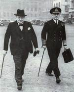 Churchill and Pound, circa 1939-1940