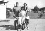 Lewis Puller and family, circa 1949