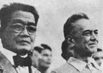 Emilio Auginaldo and Manuel Quezon in the Philippine Islands, 1935