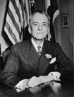 Portrait of President Manuel Quezon, Nov 1942