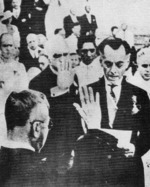 First inauguration of Philippine Commonwealth President Manuel Quezon, Legislative Building, Manila, Philippine Islands, 15 Nov 1935