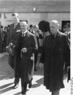 Neville Chamberlain and Joachim von Ribbentrop, Germany, 16 Sep 1938