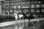 Rokossovsky and Zhukov on parade, Moscow, Russia, 1945