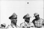 Colonel General Erwin Rommel and Major General Bernhard-Hermann Ramcke in North Africa, early 1942