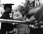 Roosevelt pleaded his case, Equator crossing ceremony aboard Indianapolis, Nov 1936