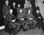 Montgomery with Australian Military Board, Melbourne, Australia, 1947