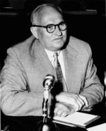 Ruml speaking before the United States Congress, 1953