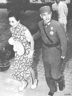 Chiang Kaishek and Song Meiling, 1942