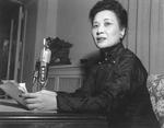 Song Meiling speaking in the United States, 1950