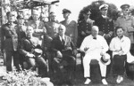 Chiang Kaishek, Franklin Roosevelt, Winston Churchill, and Song Meiling at Cairo, Egypt, Nov 1943, photo 2 of 4
