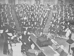 Song Meiling addressing the House of Representatives of the United States Congress, 18 Feb 1943, photo 1 of 4