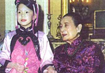 Song Meiling in her apartment in New York, New York, United States, 5 Mar 2003