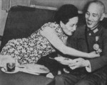 Song Meiling and Chiang Kaishek, 1940s