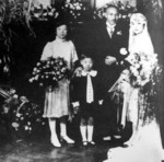 Wedding photo of Chiang Kaishek and Song Meiling, Shanghai, China, 1 Dec 1927, photo 2 of 2