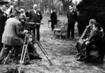 Photographers taking pictures of First Lady Eleanor Roosevelt of the United States and Song Meiling of the Republic of China, Washington DC, United States, 24 Feb 1943