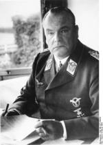 Hugo Sperrle at his desk, Feb 1942