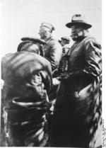 Major General Hugo Sperrle and Lieutenant Colonel Wolfram Freiherr von Richthofen during the Spanish Civil War, 1936-1937