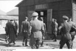 German Field Marshal Hugo Sperrle visiting an airfield, France, spring 1942, photo 5 of 5