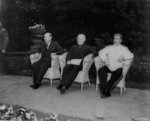 Attlee, Truman, and Stalin at Potsdam Conference, circa 28 Jul to 1 Aug 1945, photo 3 of 5