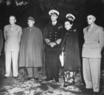 George Marshall, Chiang Kaishek, Louis Mountbatten, Song Meiling, and Joseph Stilwell, circa 1945