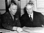 George Marshall and Henry Stimson, circa 1942