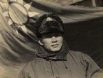 Chinese Army General Sun Liren in winter gear, date unknown