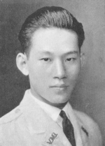 Portrait of Sun Liren, mid-1920s; note Virginia Military Institute lapel decoration
