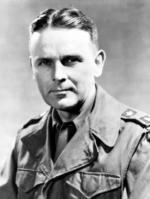 Portrait of US Army Major General Maxwell Taylor, circa 1945-1949