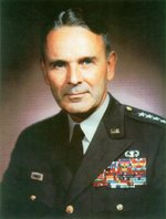 Portrait of US Army General Maxwell Taylor as Chairman of the Joint Chiefs of Staff, circa 1962-1964