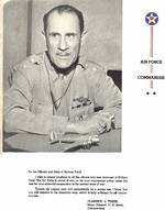 A message from USAAF Major General Clarence Tinker, commanding officer of air forces in Hawaii Islands, to his men at Hickam Field, late 1941 or early 1942