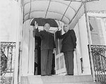 US President Harry Truman and Iranian Prime Minister Mohammad Mossadegh, 23 Oct 1951