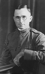 Portrait of US Army 1st Lieutenant Harry Truman, 1917