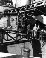 Truman aboard USS Augusta en route to Potsdam Conference, 7 Jul 1945, 3 of 3