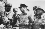 General Douglas MacArthur and Lieutenant General Walton Walker in Korea, 1950s