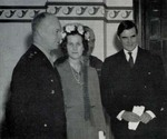 Dwight Eisenhower, Constance Rivington Russell, and John Winant, 1940s
