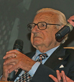 Nicholas Winton at Prague, Czech Republic, Oct 2007