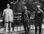 Wang Jingwei and Otozo Yamada in China, circa 1939