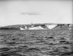 HMS Activity at anchor in the Firth of Clyde, Scotland, United Kingdom, 1942